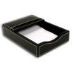 Dacasso 3200 Series Leather 4 x 6 Memo Holder in Rustic Black