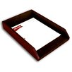 Dacasso 1000 Series Classic Leather Front-Load Legal Tray in Mocha