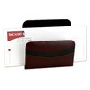 Dacasso 7000 Series Contemporary Leather Letter Holder in Burgundy