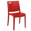 Grosfillex Commercial Resin Furniture Metro Stacking Dining Side Chair (Set of 4)