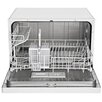 "Equator Midea 21.7"" 53dBA Compact Dishwasher in White"