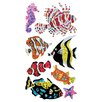 Jillson & Roberts Bulk Roll Prismatic Salt Water Fish Sticker