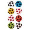 Jillson & Roberts Bulk Roll Prismatic Mini Soccer Ball Sticker