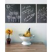Chalkboard Wall Decal (Set of 3)