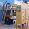 Epoch Design Kenai Twin Loft Storage Bed with Built-In Ladder