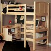 Epoch Design Radia Twin Loft Bed with Ladder