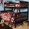 Epoch Design Seneca Twin Over Full Slat Customizable Bedroom Set