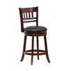 """Woodhaven Hill 24"""" Swivel Bar Stool with Cushion"""