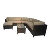 Creative Living Raven 5 Piece Deep Seating Group with Cushion