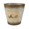 """""""No.10"""" Round Pot Planter (Set of 4)"""