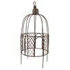 Blossom Bucket Dark Fairy Garden Birdcage Figurine (Set of 2)