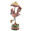 Blossom Bucket Tickled Pink Flamingo Figurine (Set of 4)