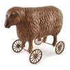 Blossom Bucket Sheep on Wheels Figurine (Set of 2)