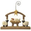 Blossom Bucket Manger with Sheep Picture Frame (Set of 4)