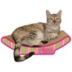 Imperial Cat Scratch 'n Shapes Cozy Curl Recycled Paper Scratching Board