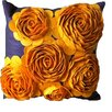 Auburn Textile 3-D Effect Felt Accent Throw Pillow