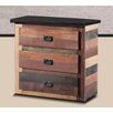dCOR design 3 Drawer Chest