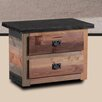 dCOR design 2 Drawer Nightstand