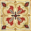 Evive Designs Bohemian Rooster Tile Square III by Daphne Brissonnet Painting Print