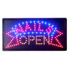 """DSD Group 10"""" x 19"""" Animated Motion LED Neon Light Nails Open Sign"""