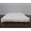 "Bio Sleep Concept Luxury Natural Wool 8"" Foam Core Futon Mattress"