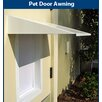 PlexiDor Universal Pet Door Awning