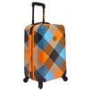 """Loudmouth Luggage Microwave 22"""" Hardsided Carry-On Spinner Suitcase"""