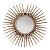 OSP Designs Ella Sunbeam Decorative Beveled Wall Mirror