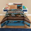 Royale Linens Kidz Mix Safari Bed in a Bag Set