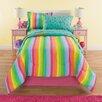 Royale Linens Kidz Mix Unicorn Reversible Comforter Set