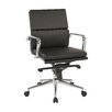 OSP Furniture Adjustable Mid-Back Eco Leather Conference Chair