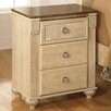 Signature Design by Ashley Saveaha 3 Drawer Nightstand