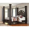 Signature Design by Ashley Laddenfield Four Poster Bed