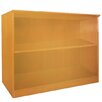 "Mayline Group 2 Shelf  29.5"" Standard Bookcase"