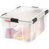 Iris 62 Quart Weathertight Storage Box (Set of 4)