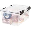 Iris 19 Quart Weathertight Storage Box (Set of 6)