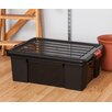 Iris 11 Gallon Heavy Duty Storage Tote (Set of 4)