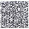 "Sin In Linen Zebra 11"" Curtain Valance"