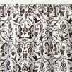 Sin In Linen Raven's Cotton Sateen Rod Pocket Single Curtain Panel