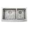 "Kraus Farmhouse 36"" 60/40 Double Bowl Kitchen Sink"