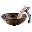 Kraus Copper Luna Glass Vessel Sink