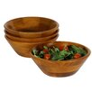 Woodard & Charles Salad With Style Sea Individual Salad Bowl Set (Set of 4)