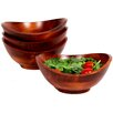 Woodard & Charles Boracay 4 Piece Individual Salad Bowl Set (Set of 4)