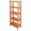 "Manchester Wood Mission 54"" Standard Bookcase"