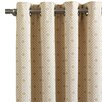 Eastern Accents Downey Cyrus Straw Single Curtain Panel