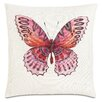 Eastern Accents Garden Fauna Fuchsia Throw Pillow