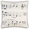 Eastern Accents Music On the Beat Throw Pillow