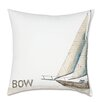 Eastern Accents Outdoor Ship Bow Throw Pillow