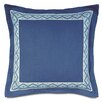 Eastern Accents Olympia Breeze Border Down Throw Pillow