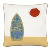 Eastern Accents Epic Shore Surf's Up Down Throw Pillow